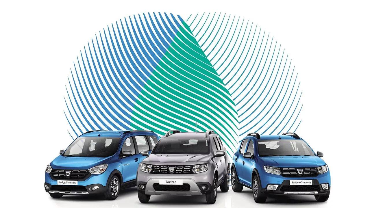 Nouvelle gamme Eco-G Dacia
