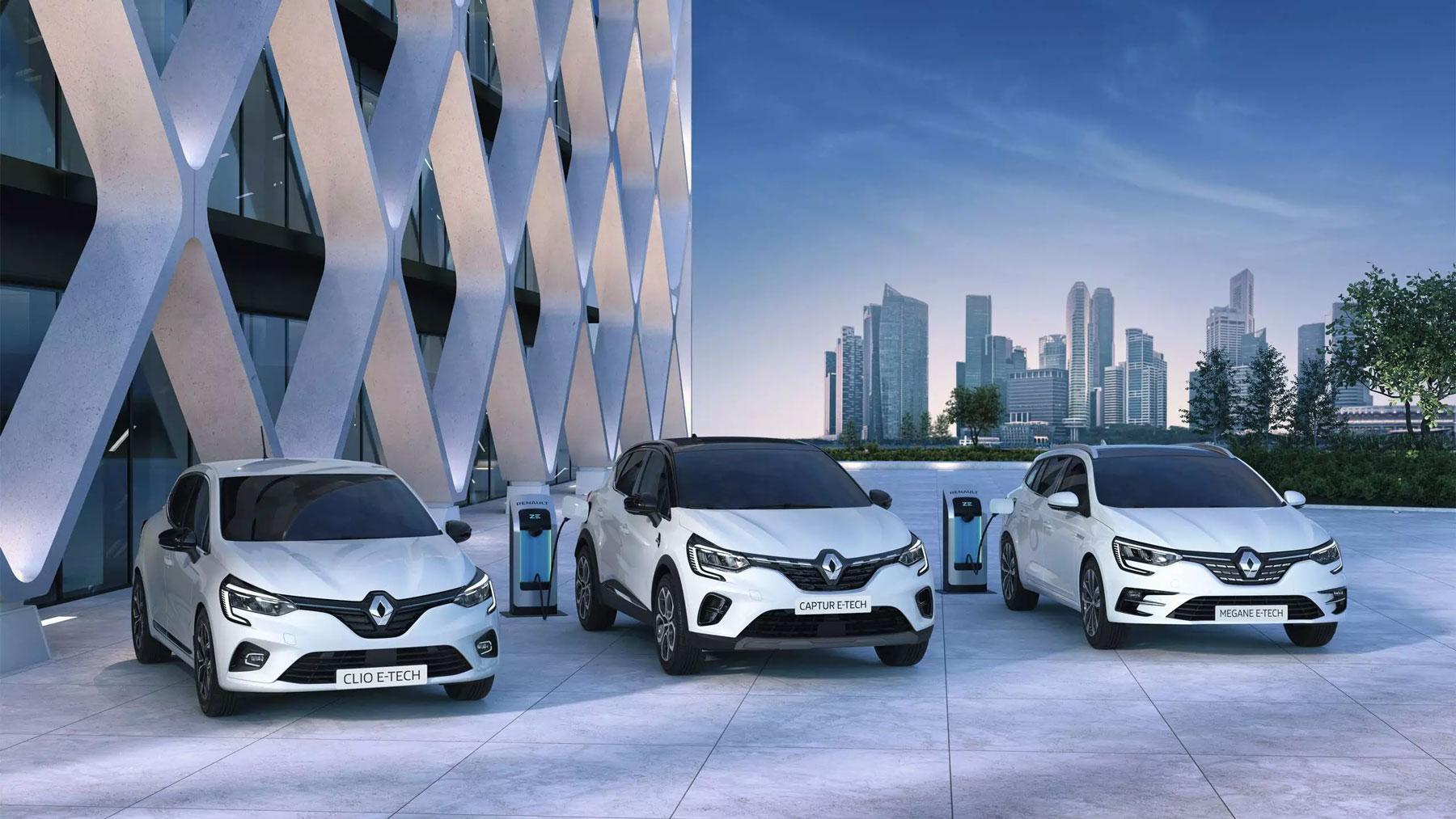 Nouvelle gamme Renault E-Tech