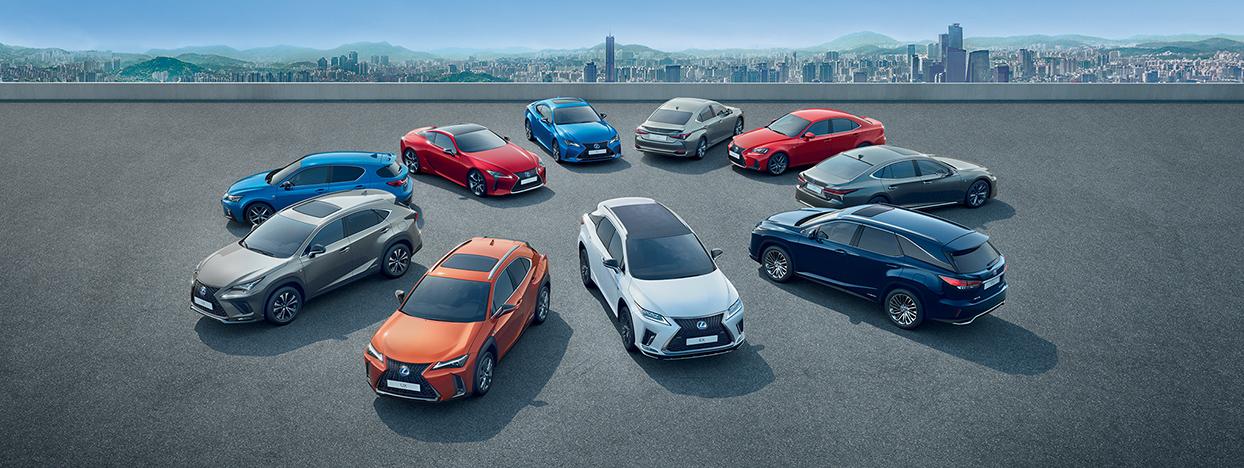 Découvrez la gamme LEXUS Hybride auto-rechargeable