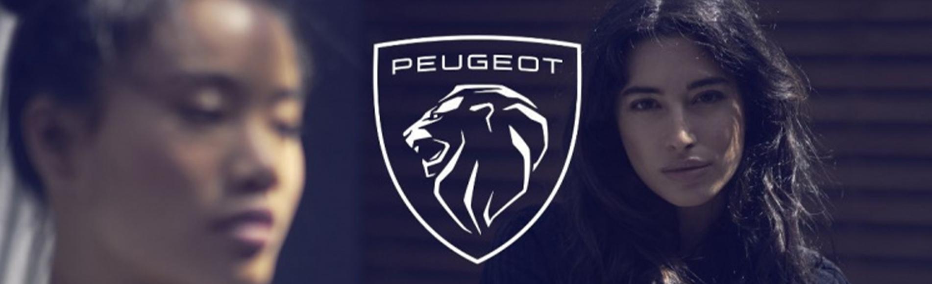 PEUGEOT: un nouvel emblème, le lion rugit plus fort.